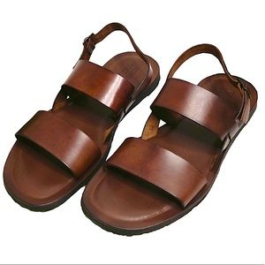 Men's Mercanti Fiorentini Leather Sandals Size 13M